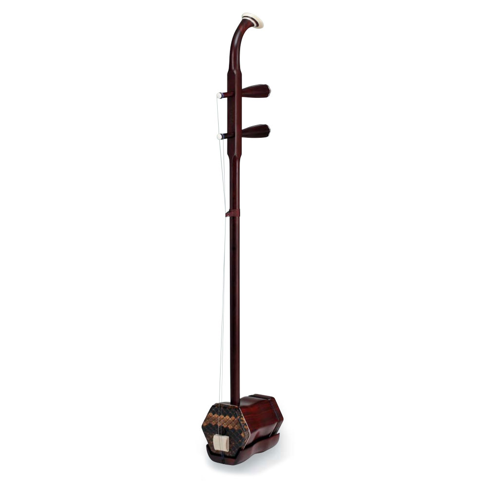 古月琴坊 ER-4000 アフリカ小葉紫檀 中国二胡