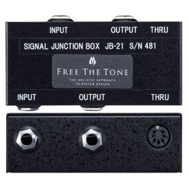Free The Tone JB-21 Signal Junction Box ジャンクションボックス