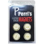 Perri'sGNM-02ギターノブデザインマグネットホワイト
