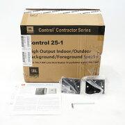 JBLPROFESSIONALControl25-1アウトレット2Wayフルレンジスピーカーペア設備用スピーカー