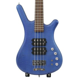 WARWICK Corvette $$ 4st Ocean Blue Transparent Satin Maple Top German Pro Team Built エレキベース
