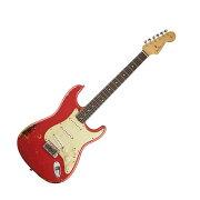 FenderMichaelLandauSignature1963RelicStratocasterRound-LaminatedRosewoodFiestaRedover3-ColorSunburstエレキギター