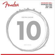 FenderStainless350'sGuitarStringsStainlessSteelBallEnd350RGauges010-046エレキギター弦