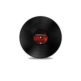 NATIVE INSTRUMENTS TRAKTOR SCRATCH Pro Control Vinyl Black MK2 コントロールバイナル