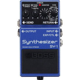 BOSS SY-1 Synthesizer ギターシンセサイザー エフェクター