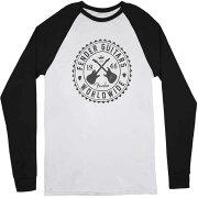 FenderSealMen'sRaglanWhiteXL長袖Tシャツ