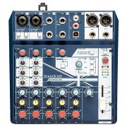 SoundcraftNotepad-8FXミキサー