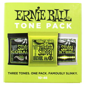 ERNIE BALL 3331 Electoric Tone Pack Regular 10-46 エレキギター弦 3セットパック