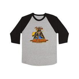 Fender Meteora Raglan Gray & Black XLサイズ Tシャツ ラグラン