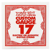 ERNIEBALL1017PLAINSTEEL017ギター用バラ弦
