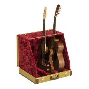 Fender Classic Series Case Stand Tweed 3 Guitar 3本立て ギタースタンド