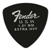Fender346Dura-Tone1.21mmBLKギターピック12枚入り