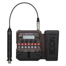 ZOOM A1X FOUR アコースティック楽器用 マルチエフェクター