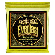 ERNIEBALL2556EverlastMediumLightCoated80/20Bronze12-54Gaugeアコースティックギター弦
