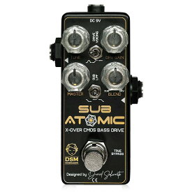DSM Noisemaker Sub Atomic ベースオーバードライブ エフェクター