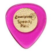 EssetipicksSpeedyPlexyClearPurpleギターピック1枚