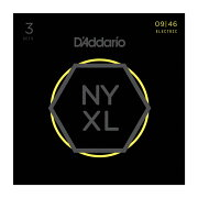 D'AddarioNYXL0946-3Dエレキギター弦3セットパック