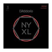 D'AddarioNYXL1052-3Dエレキギター弦3セットパック