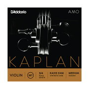 D'AddarioKA3101/2MKaplanAmoViolinStringSet1/2ScaleMediumTensionバイオリン弦セット1/2スケール