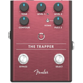 Fender The Trapper Dual Fuzz ファズ ギターエフェクター