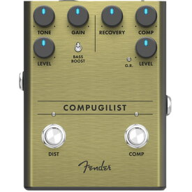 Fender Compugilist Compressor Distortion ギターエフェクター