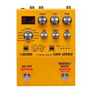 BOSSOD-200HybridDriveオーバードライブギターエフェクター