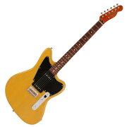 FenderLimitedMahoganyOffsetTelecasterP90YELTRANSエレキギター
