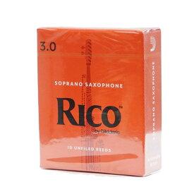 D'Addario Woodwinds/RICO RIA1030 リコ ソプラノサックスリード 10枚入り [3]