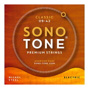 SONOTONESTRINGSCLASSIC09-42ニッケルスチールエレキギター弦