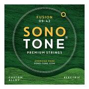 SONOTONESTRINGSFUSION09-42カスタム合金エレキギター弦
