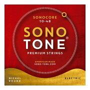 SONOTONESTRINGSSONOCORE10-48ニッケルラウンドエレキギター弦