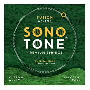 SONOTONESTRINGSFUSIONBASS45-105カスタム合金エレキベース弦