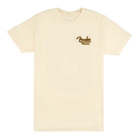 Fender Acoustasonic Tele T-Shirt Cream Mサイズ Tシャツ 半袖