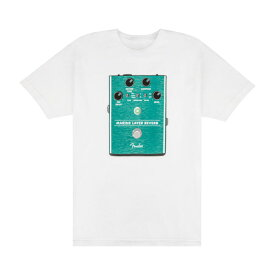 Fender Marine Layer Reverb T-Shirt White Sサイズ Tシャツ 半袖