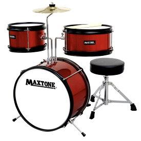 MAXTONE MX-60 RED ジュニアドラムセット