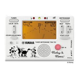 YAMAHA TDM-700DMN5 ディズニー ミッキー&ミニー チューナー メトロノーム