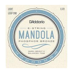 D'AddarioEJ72PhosphorBronzeMandolaStringsLight14-49マンドラ用弦