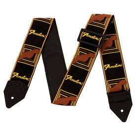 Fender Limited Edition Vintage Modified Monogramed Strap BK/YW/BR ギターストラップ