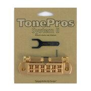 ToneProsAVT2G-GWraparoundBridgeゴールドギター用ブリッジ