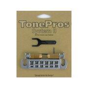 ToneProsAVT2P-CWraparoundBridgeクロームギター用ブリッジ