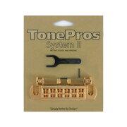 ToneProsAVT2P-GWraparoundBridgeゴールドギター用ブリッジ