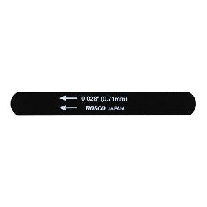 HOSCO H-NF-028 ギター用/ウクレレ用 ブラックナットファイル