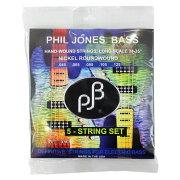 PHILJONESBASSエレキベース弦5弦ベース用045-125