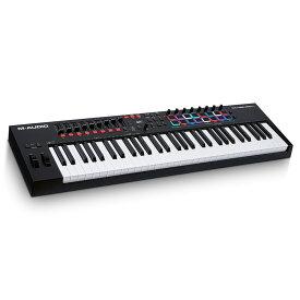 M-AUDIO Oxygen Pro 61 61鍵盤 USB MIDI キーボードコントローラー