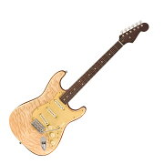 FenderRaritiesQuiltMapleTopStratocasterNATエレキギター