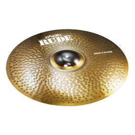 "PAISTE RUDE Ride Crash 20"" ライドシンバル"