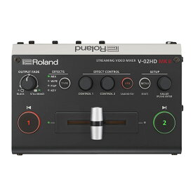 ROLAND V-02HDMKII STREAMING VIDEO MIXER ビデオスイッチャー ビデオミキサー
