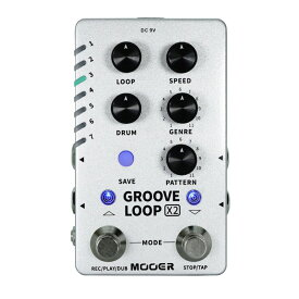 Mooer GROOVE LOOP X2 ドラムマシン エフェクター