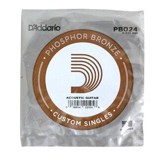 D'Addario PB024弦Phosphor Bronze玫瑰花弦