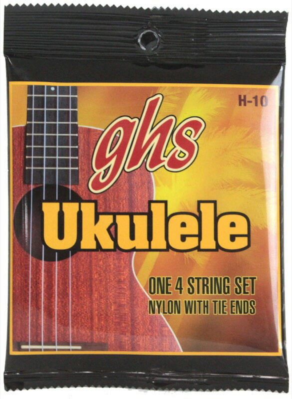 GHS H-10/Hawaiian Ukulele Black Nylon ウクレレ弦